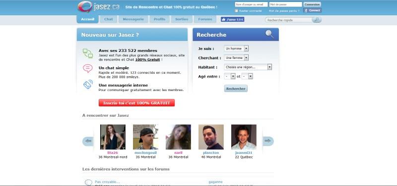 site de rencontre gratuit en ligne au québec