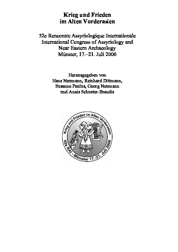 53 rencontre assyriologique