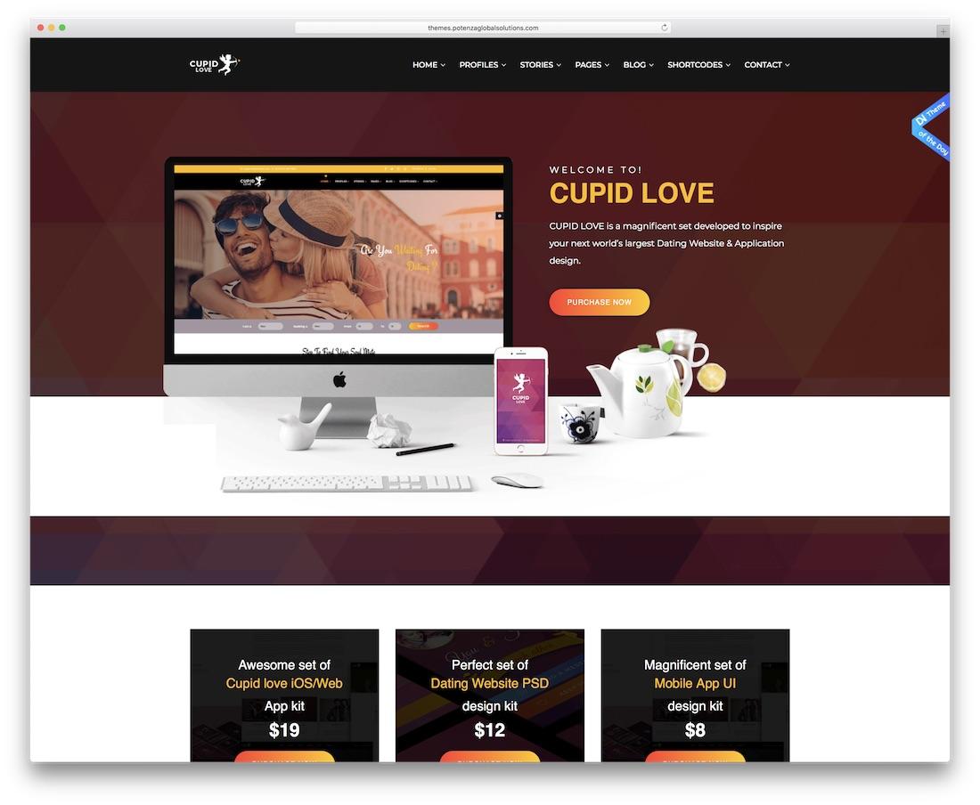 template html site de rencontre