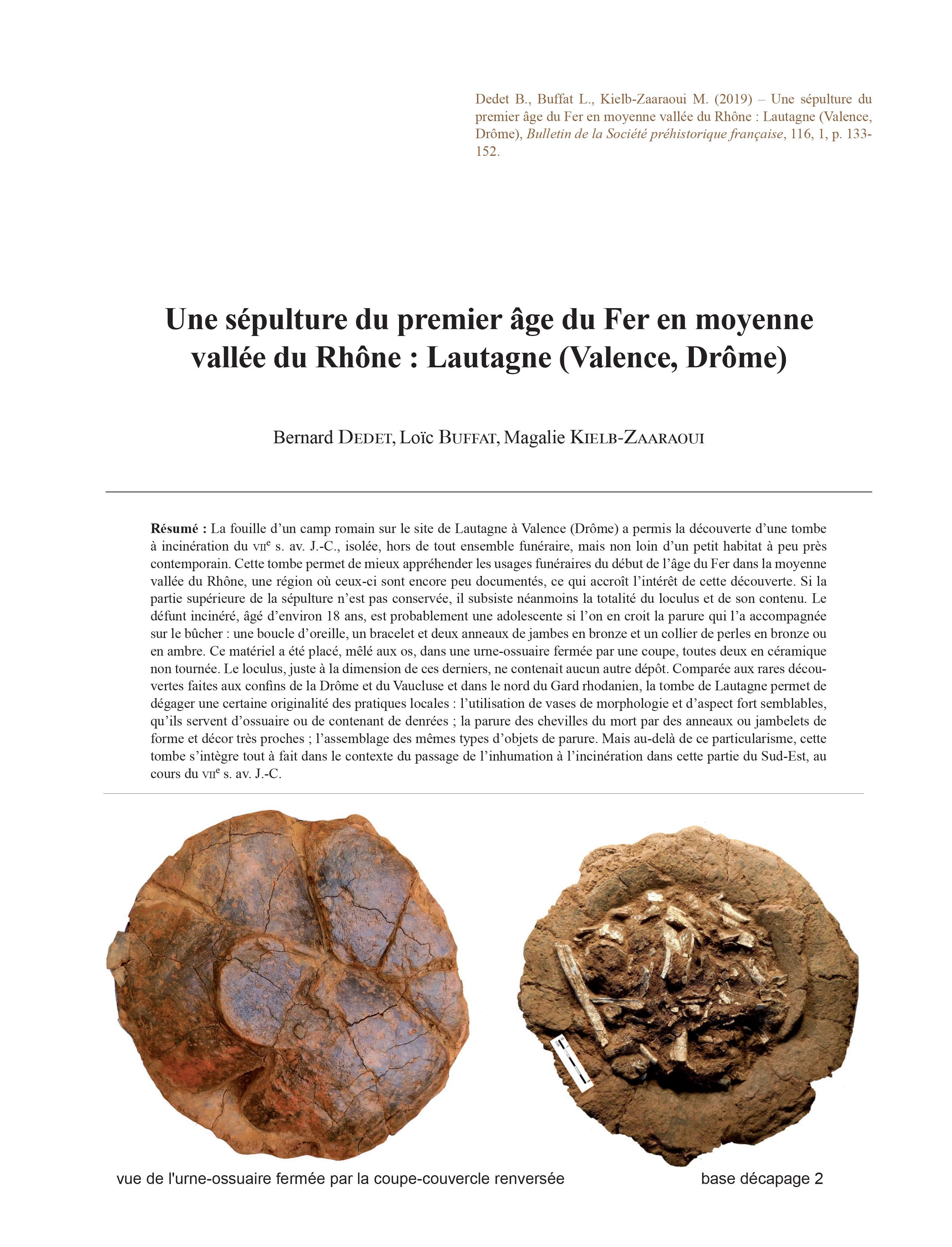 Rencontres préhistoriques de Bretagne 2019