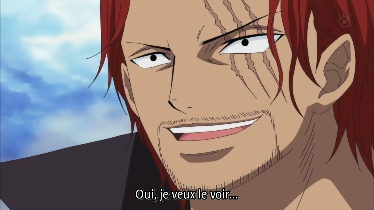 one piece luffy rencontre shanks sites rencontres belgique