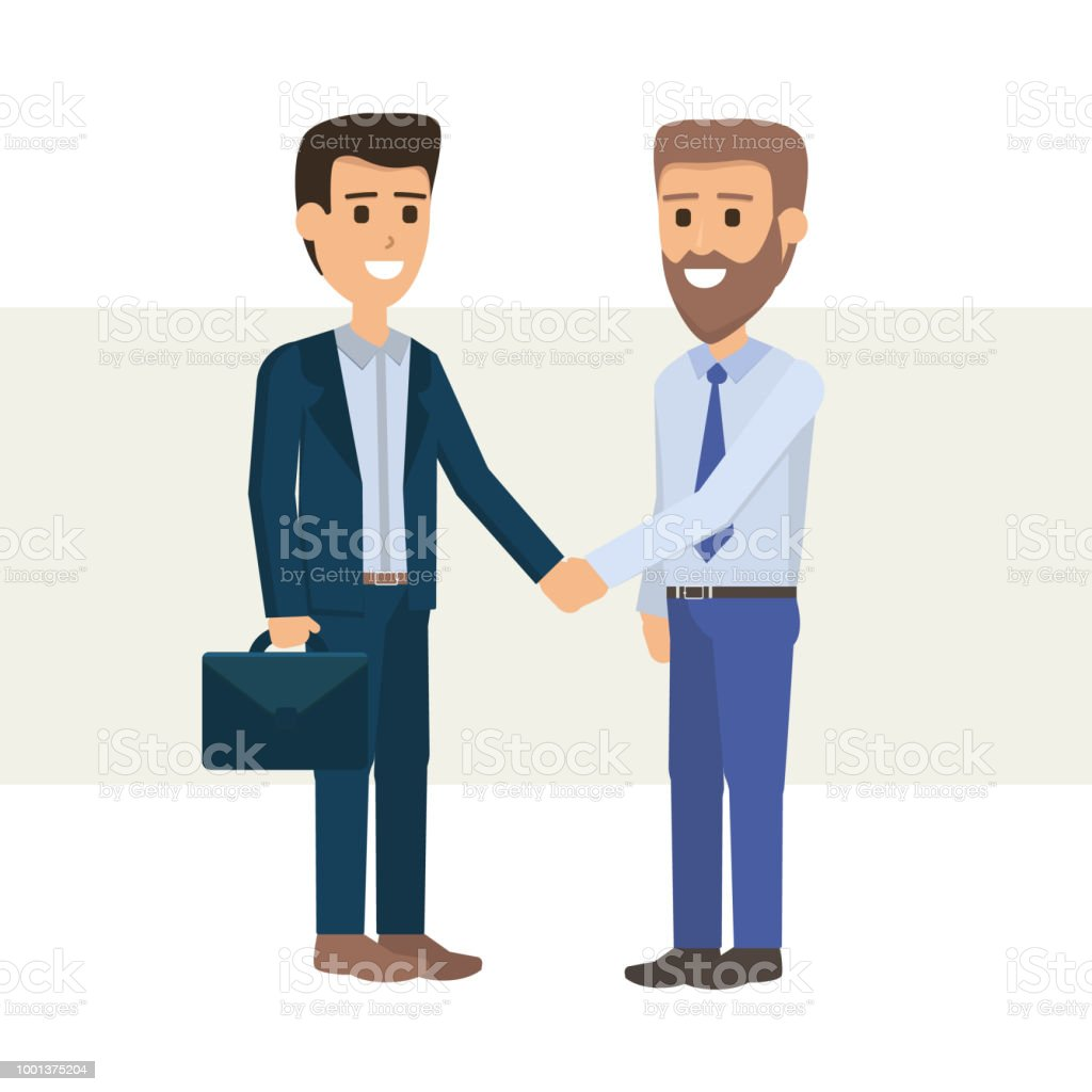 rencontre des hommes d affaires)