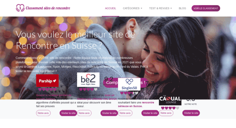 top sites de rencontres 2019
