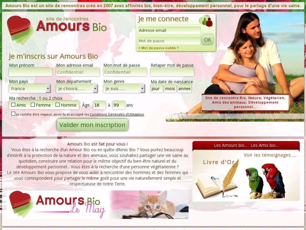 amour bio site de rencontre