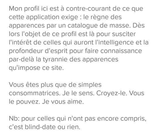 description profil homme site de rencontre site marocain rencontre