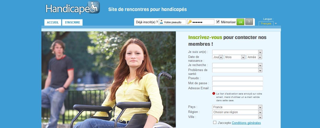 site de rencontre gratuit pour personne handicapé)