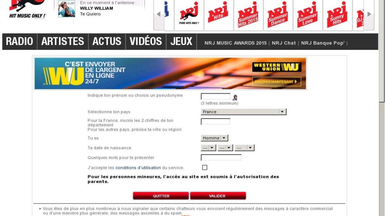 Site de rencontre nrj chat : Site de rencontre amicale 06