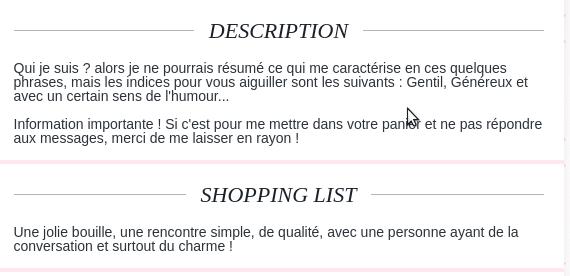 Exemple annonce profil site de rencontre – Alice and Ann