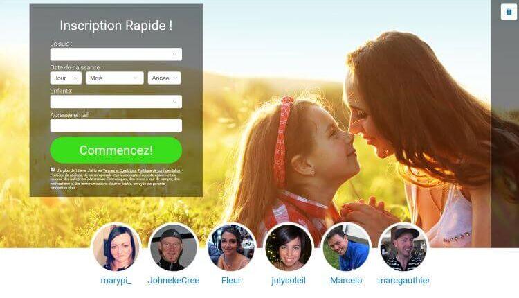 site de rencontre pour parents divorcés