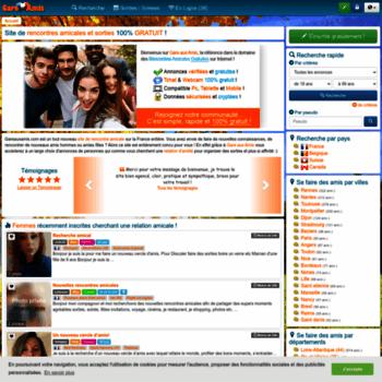 site de rencontres amicales gratuit