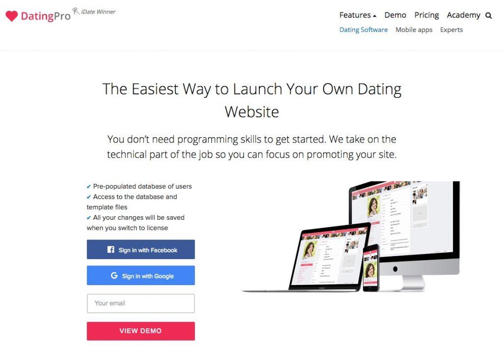 créer un site web de rencontre