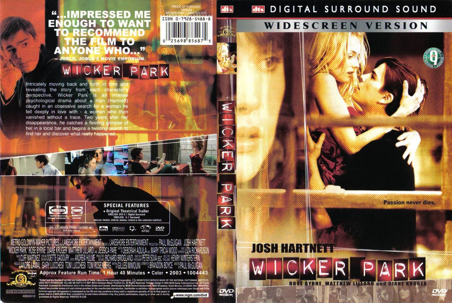 DVDFr - Rencontre à Wicker Park - DVD