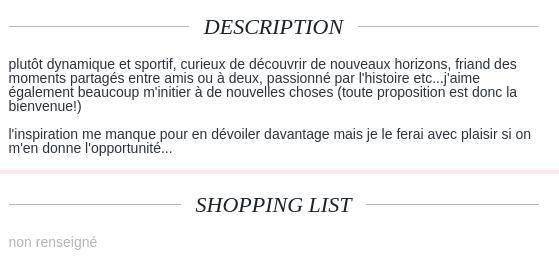 Phrase Type Pour Site De Rencontre