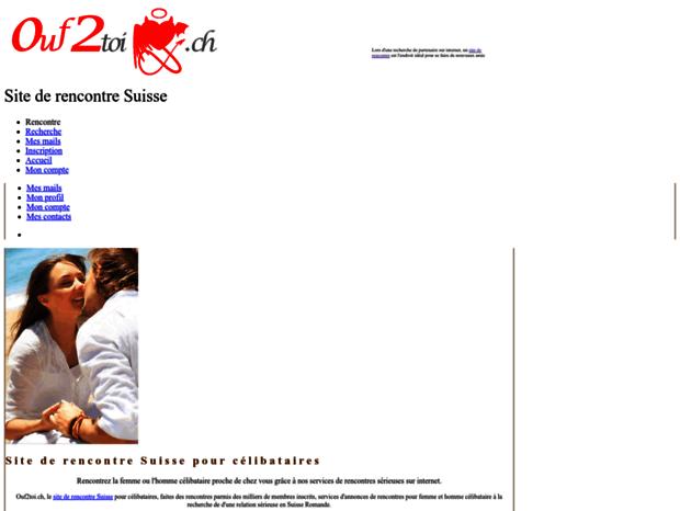 site de rencontre amical suisse