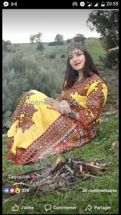 cherche femme kabyle