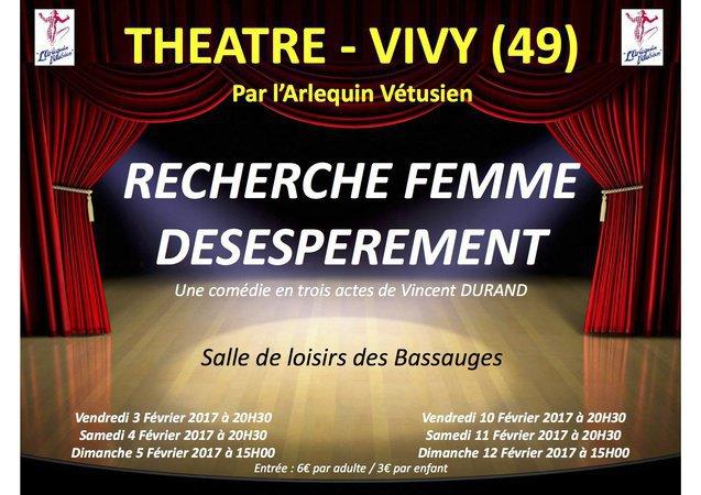 recherche femme desesperement theatre rencontres edarling