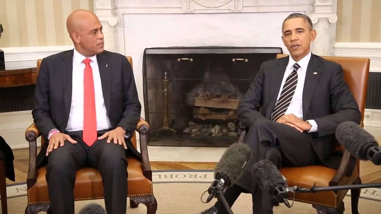 rencontre entre obama et michel martelly
