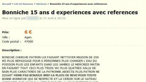 Gironde 33, aide à domicile, ménage et repassage.