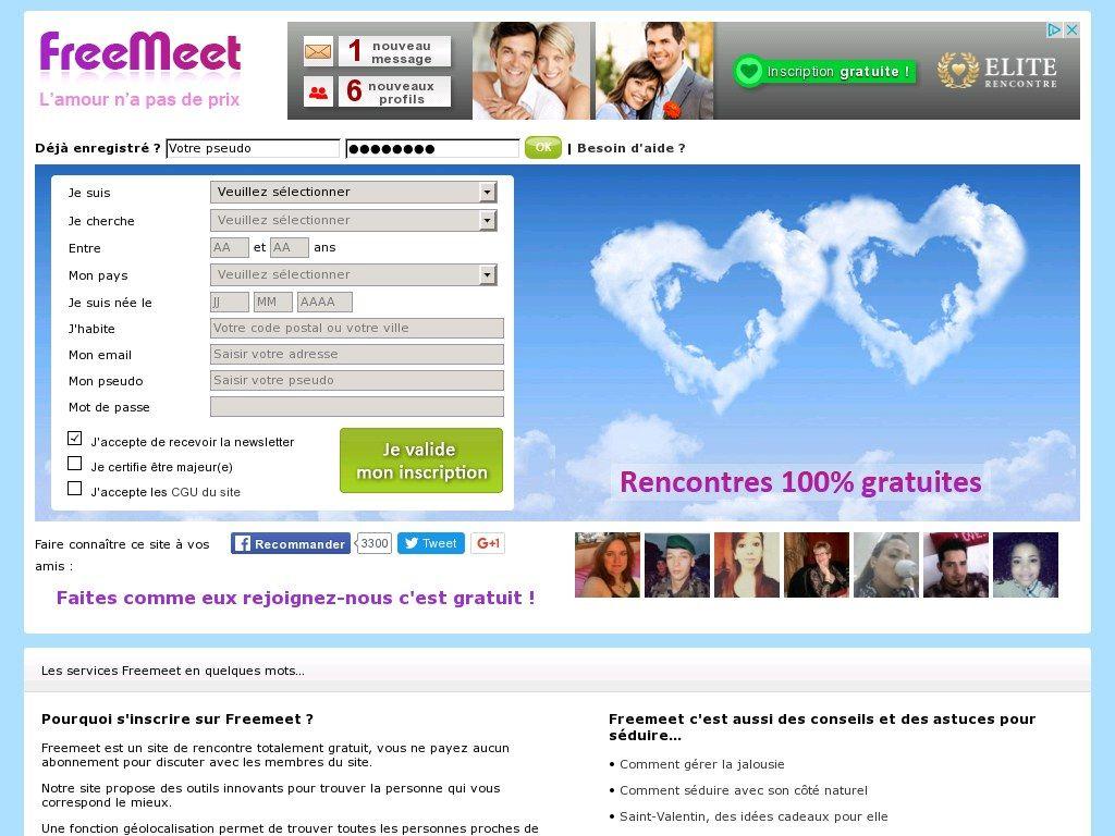 site de rencontre connu gratuit rencontre amoureuse gratuite quebec