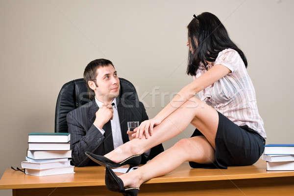 flirter collègue