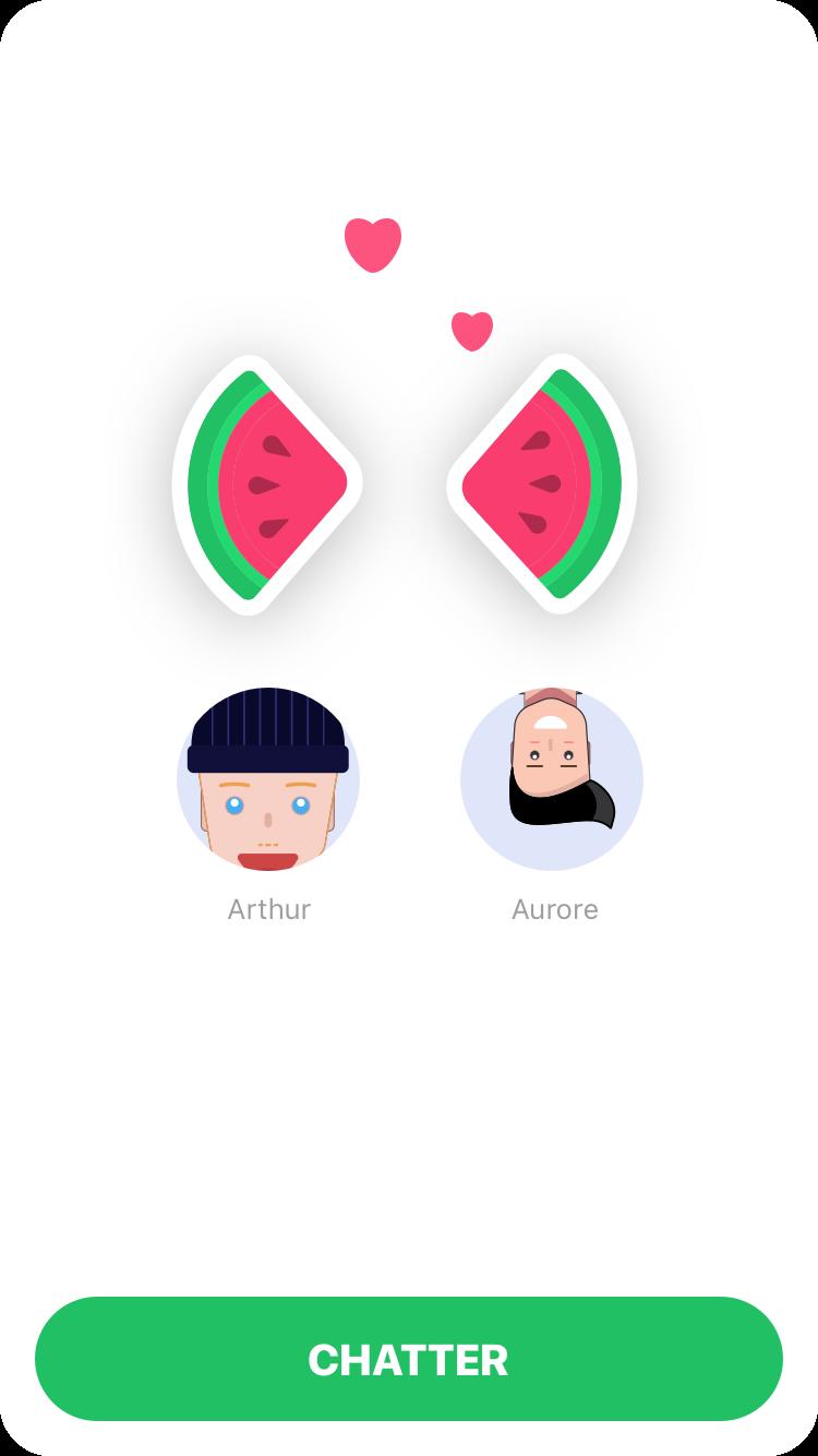 Mobile : Fruitz, l'appli qui va vitaminer les rencontres amoureuses des Millennials ?