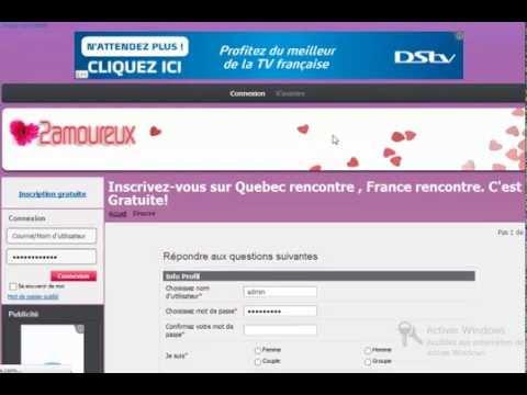 Site de rencontre % gratuit dédié aux + 40 ans au Québec