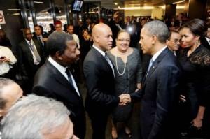 rencontre entre obama et michel martelly rencontre femme célibataire 94