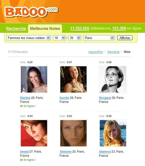 rencontre gratuite badoo site de rencontre femme de couleur