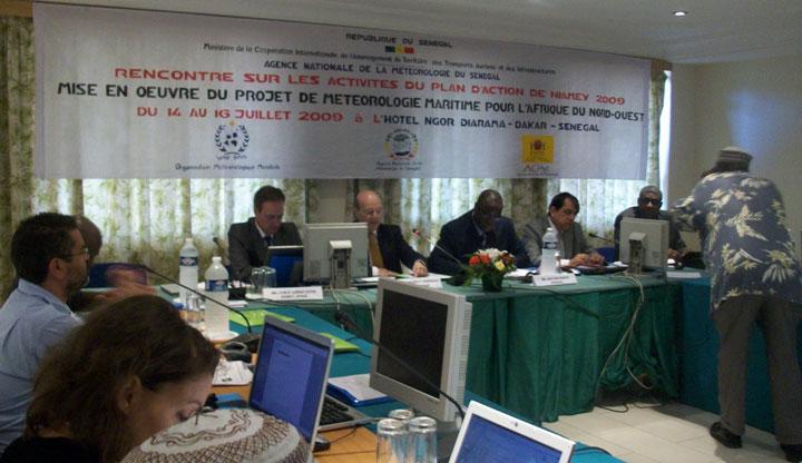 Congrès FRANCOPOL - Rencontre du comité organisateur à Dakar