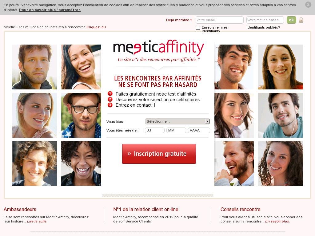 site de rencontre meetic affinity gratuit cherche femme célibataire pour mariage