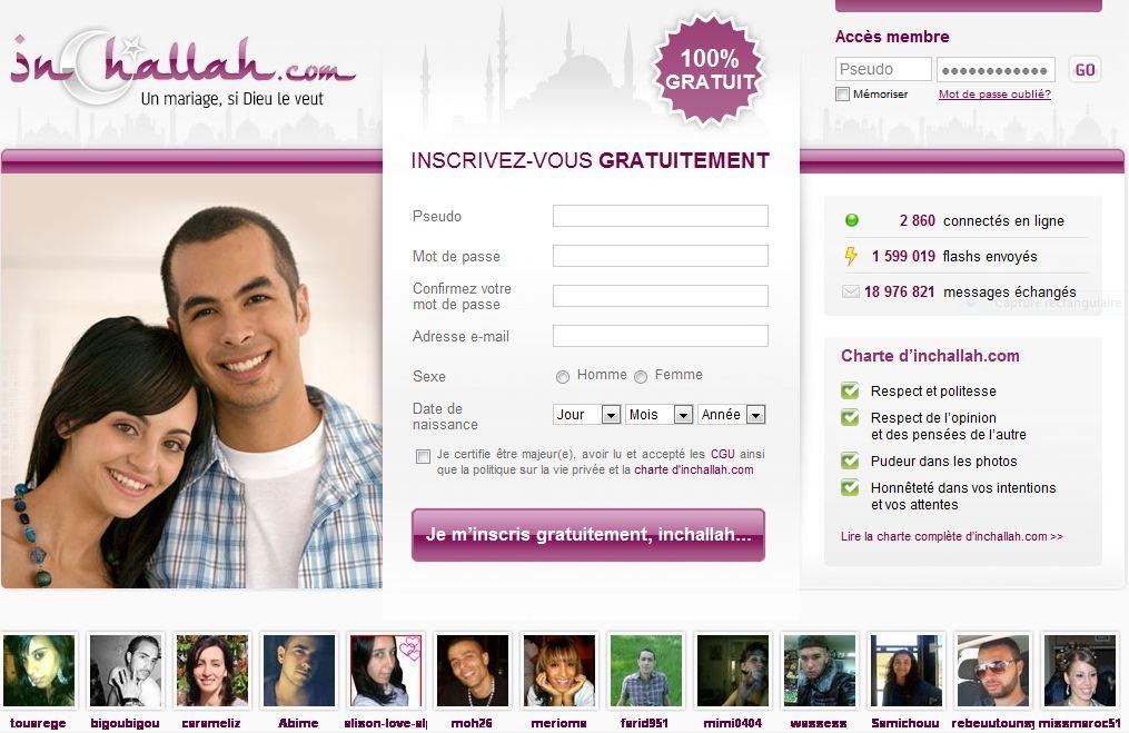 site de rencontre pour musulmans gratuit recherche femme célibataire en bretagne