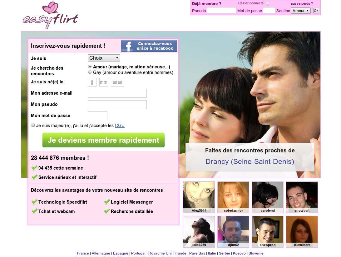 site de rencontres easy flirt sites de rencontre musulmans convertis