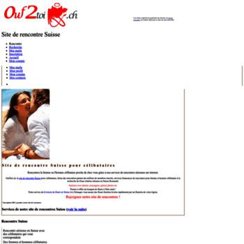 site rencontres gratuit suisse