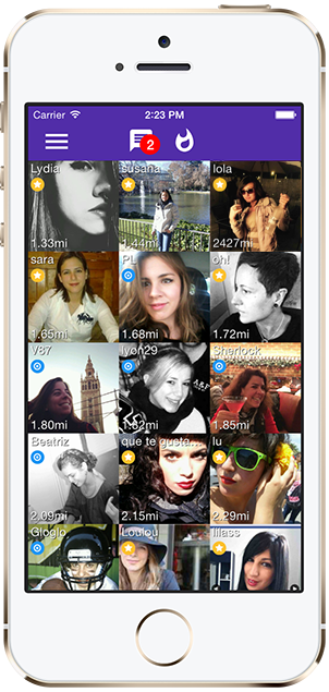 application site rencontre iphone