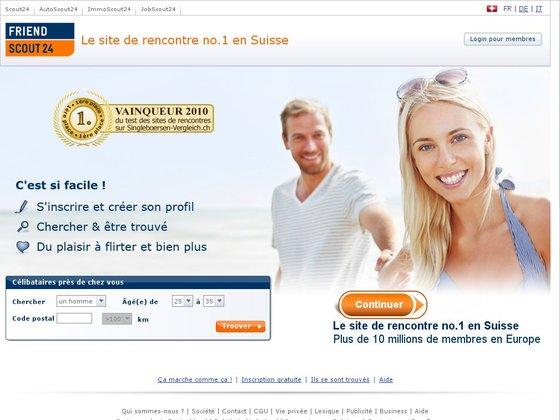 Le 1er site suisse de rencontres, nouvelle version.