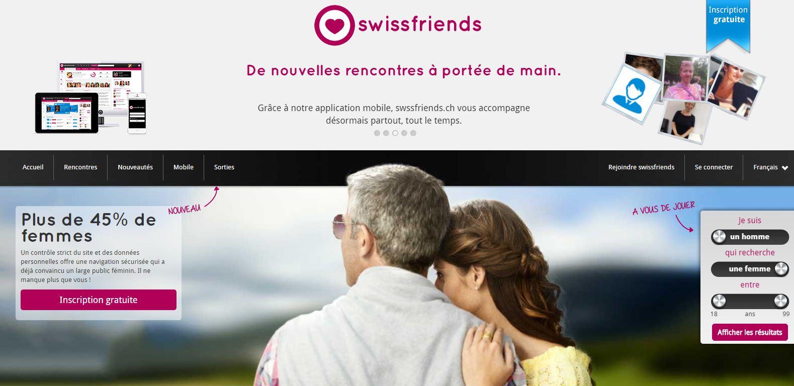 rencontres en ligne suisse