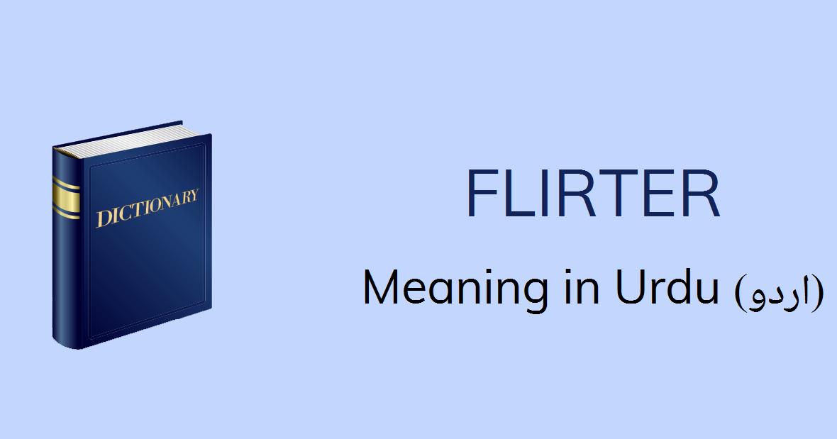 flirter in french means