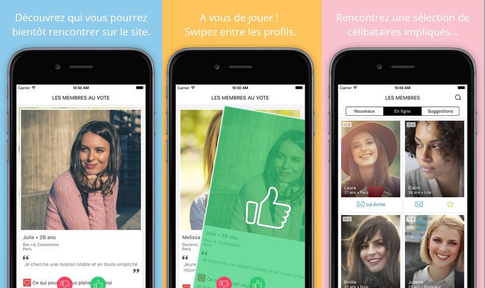 Les 20 applications préférées des Français pour faire des rencontres