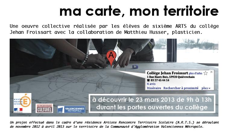 A.R.T.S. (Artiste Rencontre Territoire Scolaire) | Communauté d'Agglomération La Porte du Hainaut