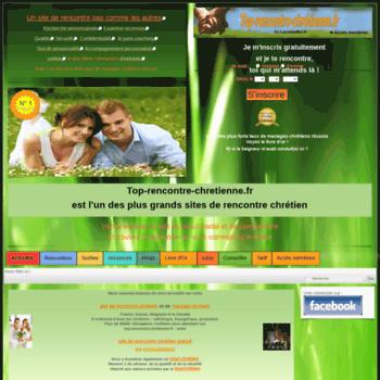 site rencontre chr tien gratuit)