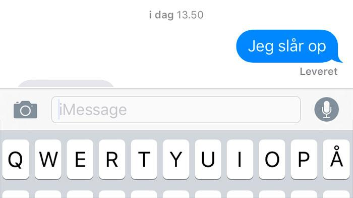 hvordan man flirter over sms