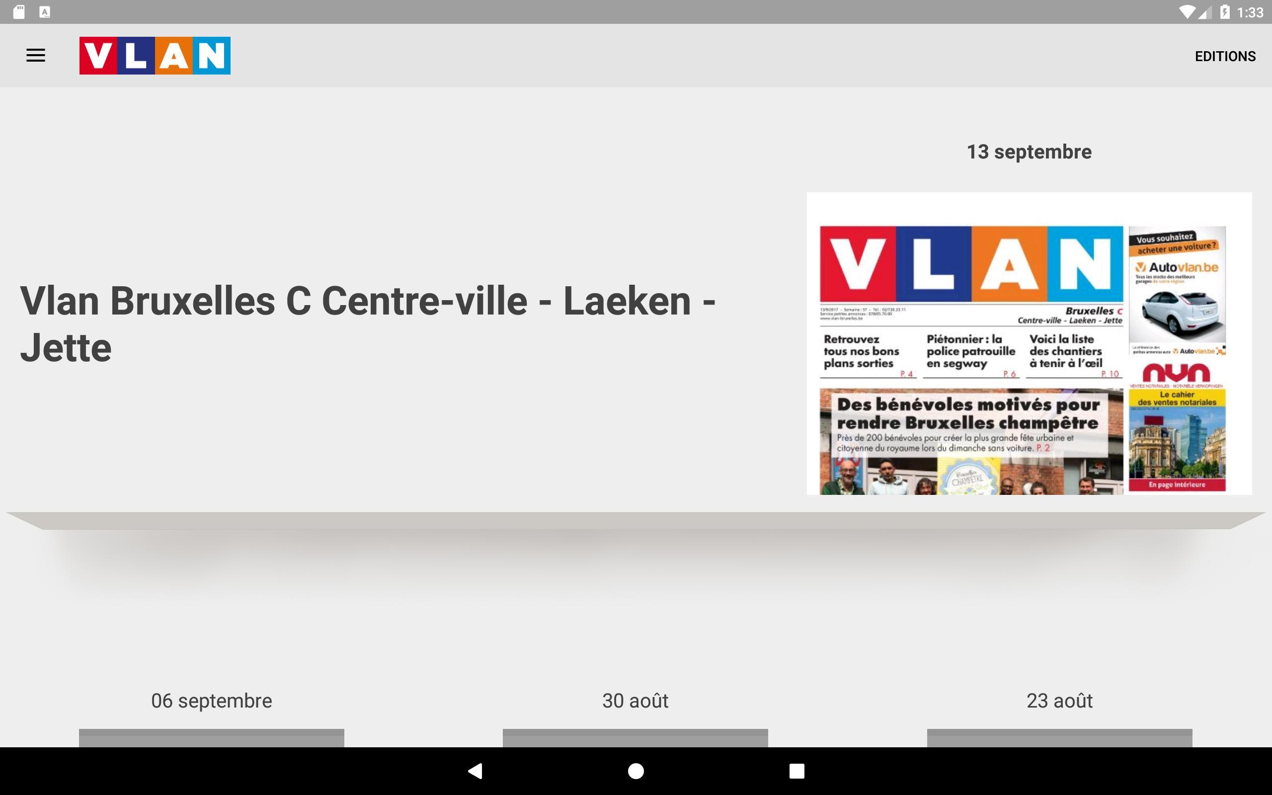 VLAN Province de Hainaut