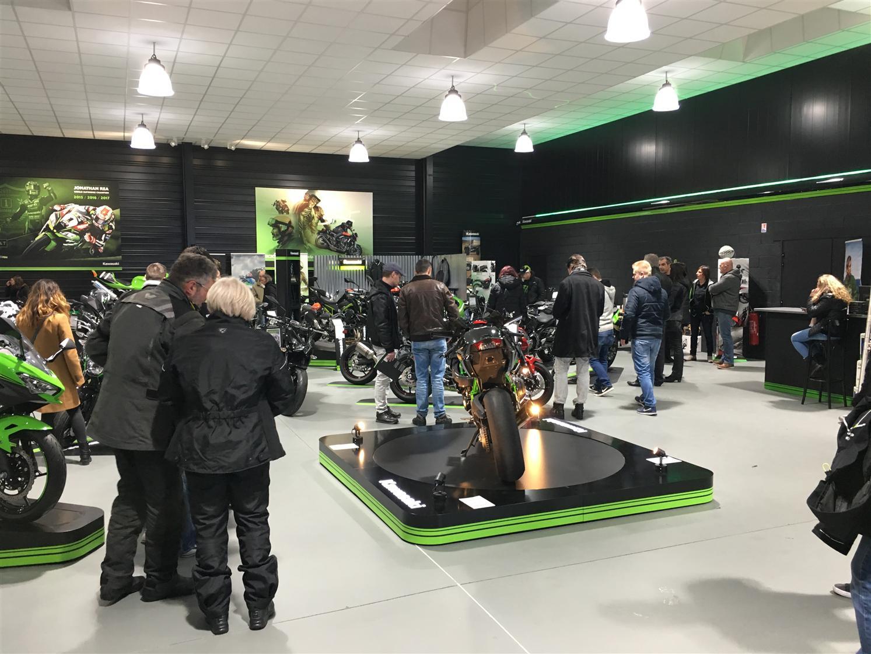 Éric Lapointe chez Harley-Davidson Montréal/Moto Internationale
