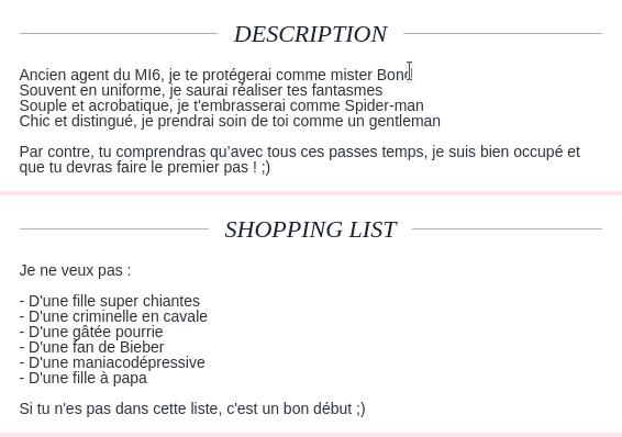 exemple annonce site de rencontre site de rencontre et mariage en algerie
