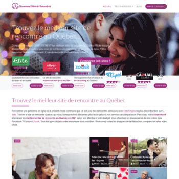 meilleur site de rencontre quebecois cherche portable de femme libre en corse