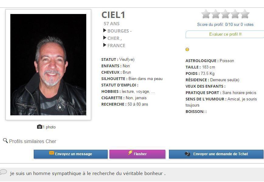 site de rencontre profil homme