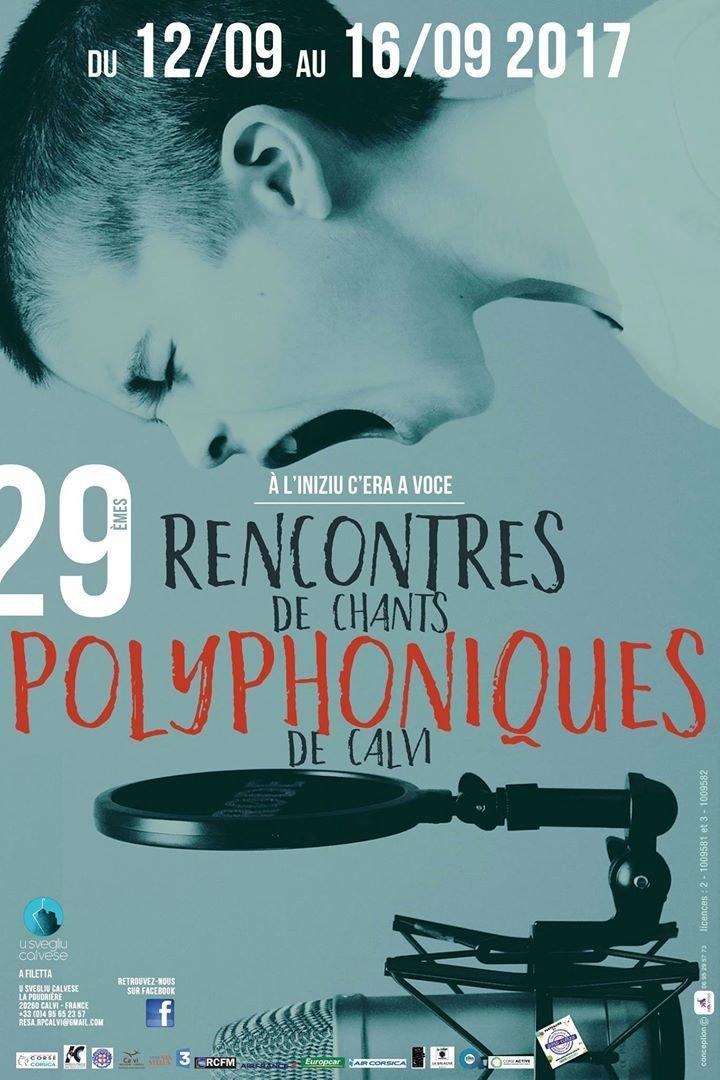 RENCONTRES DE CHANTS POLYPHONIQUES DE CALVI