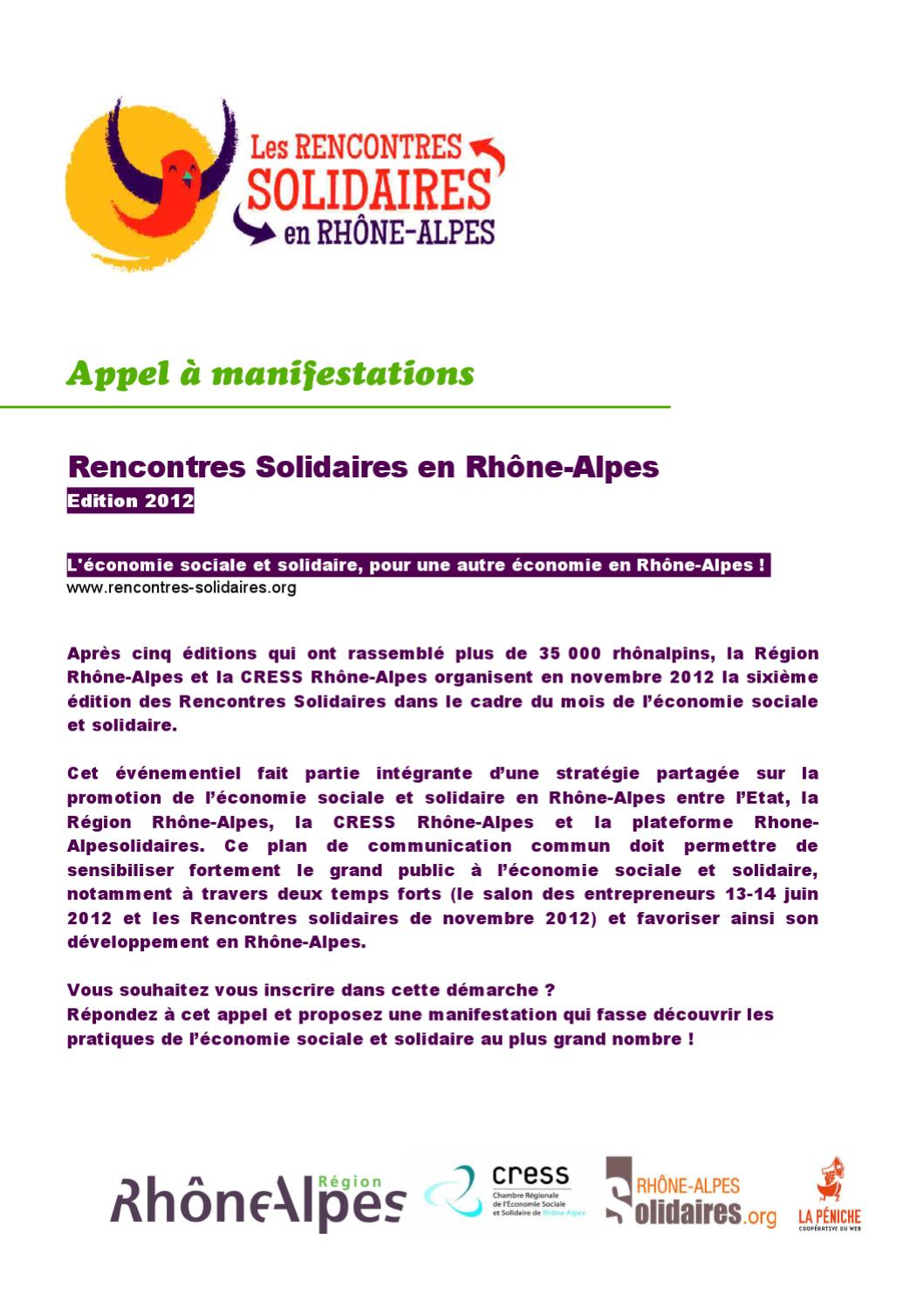 rencontres solidaires