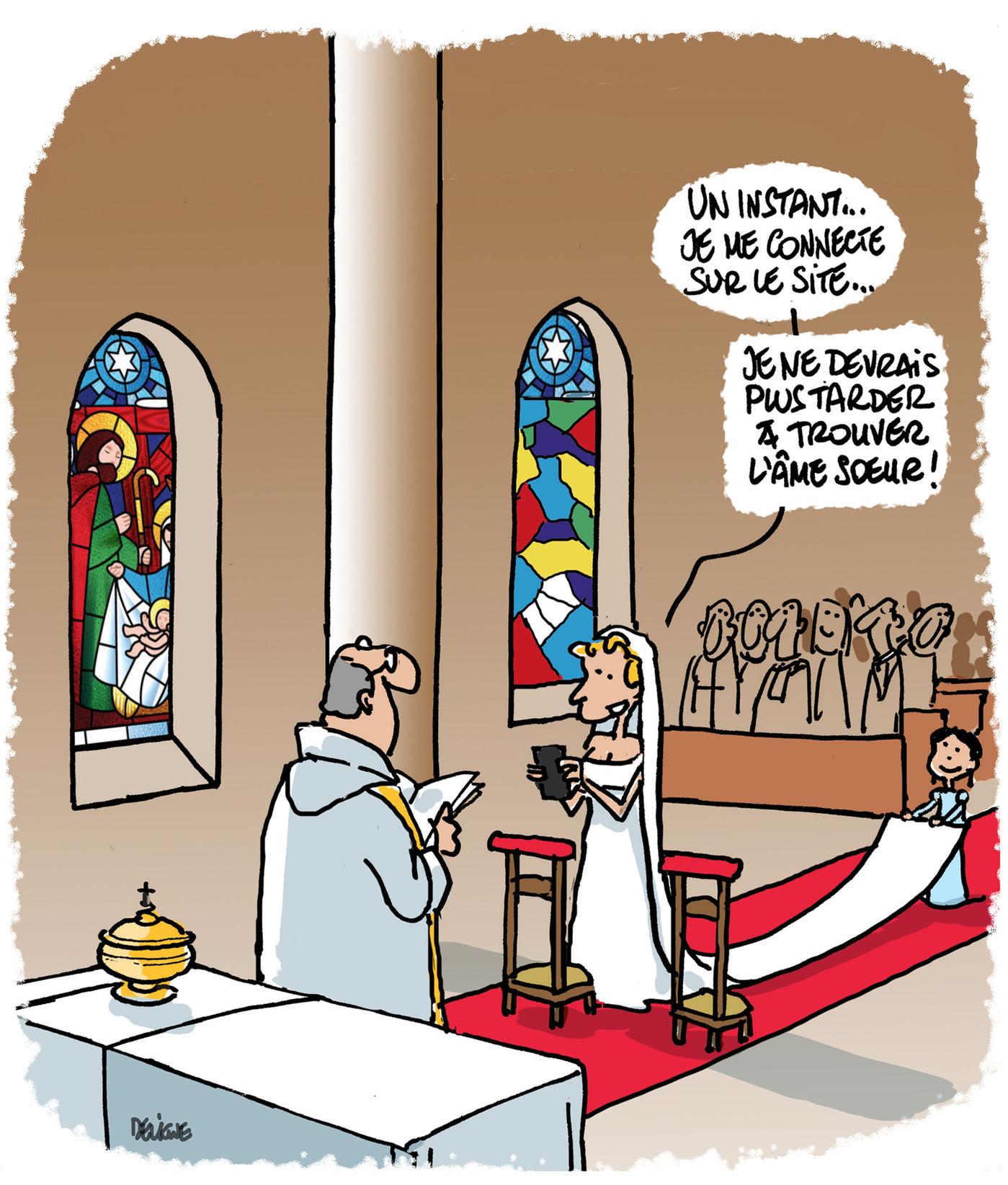 Ces croyants qui se marient via Internet