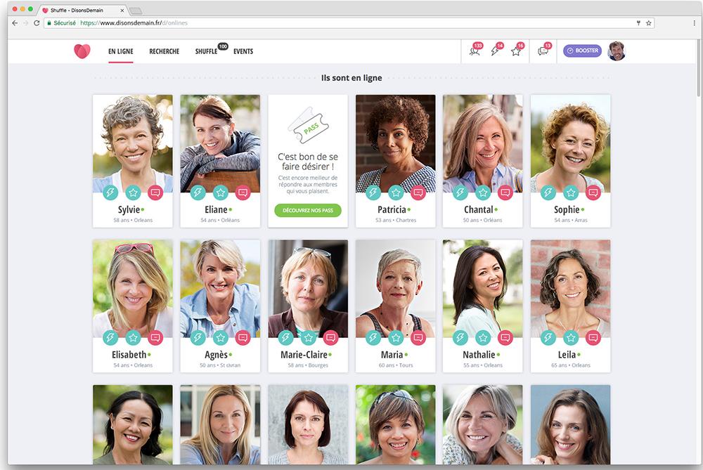 site de rencontre pour célibataires de 50 ans